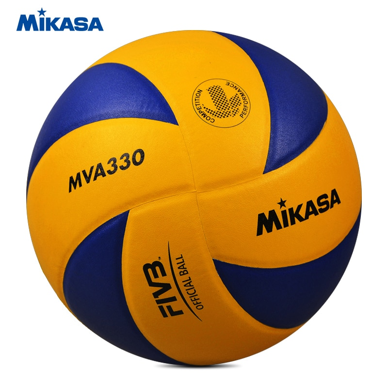 Original Mikasa Volleyball MVA330 Soft PU Leather FIVB Game Ball FIVB Approve Official Professional Competition Volleyball