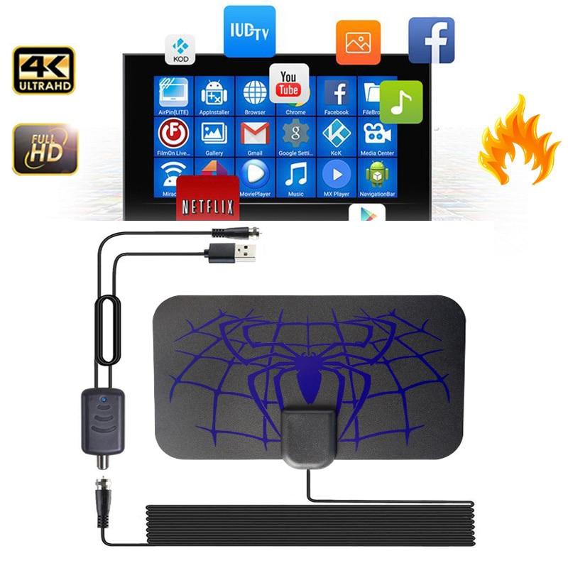 Цифровая антенна для ТВ-антенны помещений 1500 миль HDTV ресивер блюд Freeview 1080p