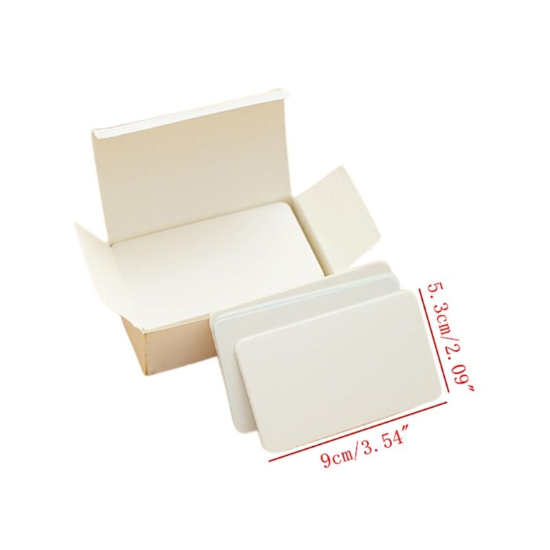 180 Uds naipes en blanco Índice de tarjetas Flash Grafiti de manualidades tarjeta de juego Dropshipping