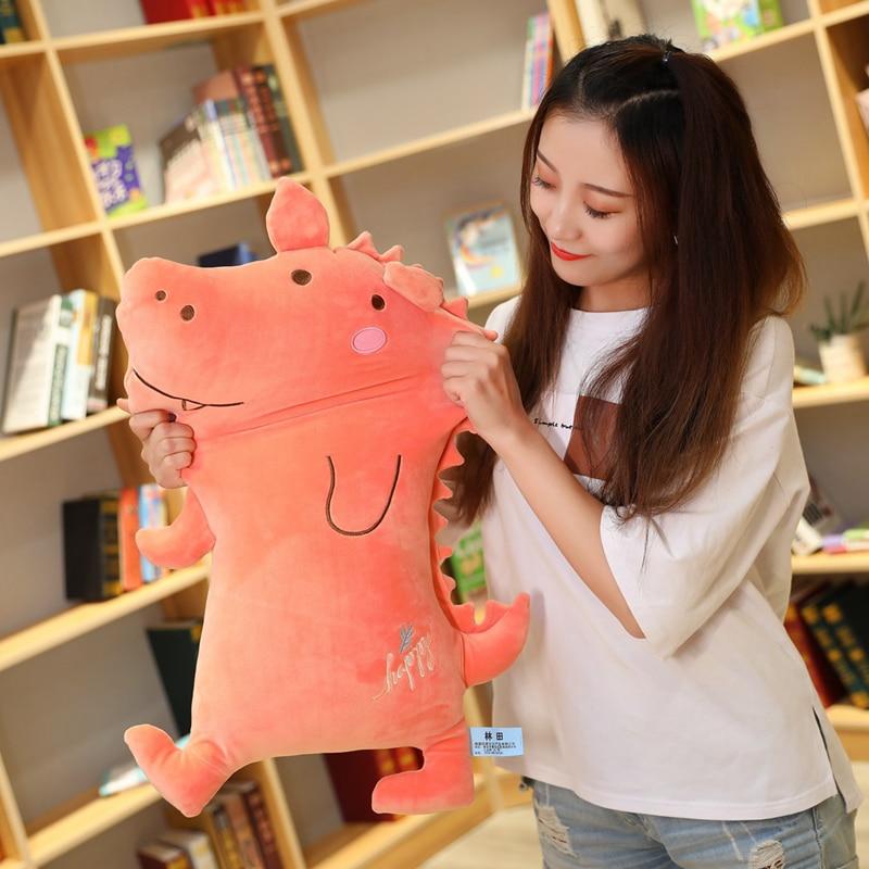 Soft Hot 50/70/90CM Cute Little Bear Plush Toy Kiss Pig Pillow Christmas Gift For Kids Birthday Girl