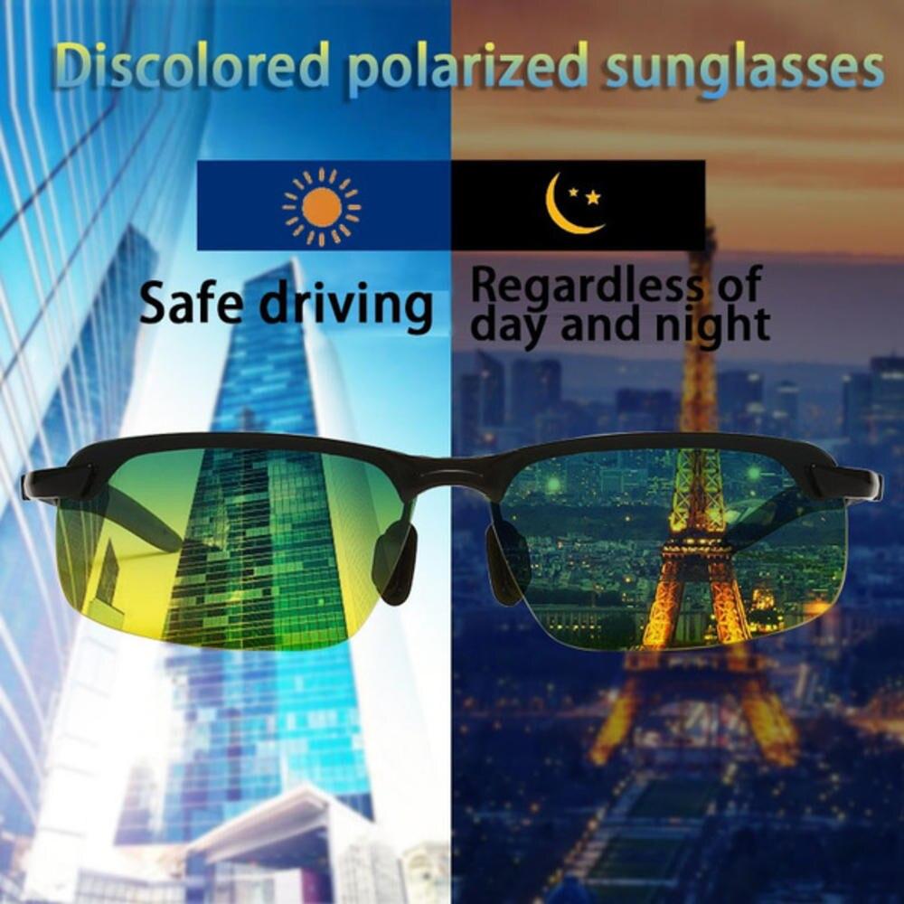 Солнцезащитные очки с фотохромными линзами для мужчин и женщин, поляризационные, хамелеоны, антибликовые, для вождения автомобиля