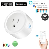 10A US wifi Smart Plug With out Power Monitor  wifi wireless Smart Socket Outlet with Google Home Alexa Voice Control Tuya Smart