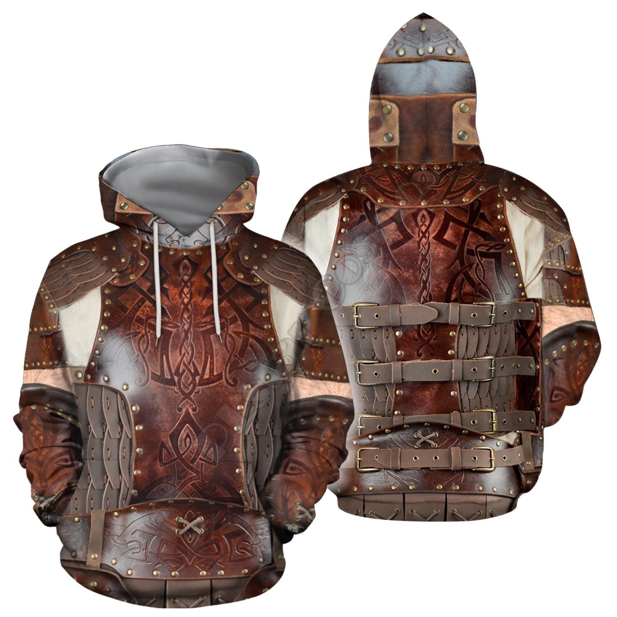 Толстовка унисекс с 3D-принтом «Армия викингов», свитшот на молнии, худи, женский и мужской пуловер, уличный костюм для косплея