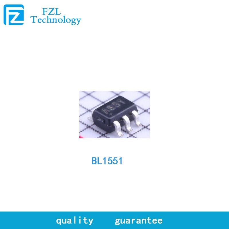 20 pces bl1551 analógico switch chip SC-70-6 (sot-363) um de dois interruptor analógico, spdt na resistência 2.7original brandnew original