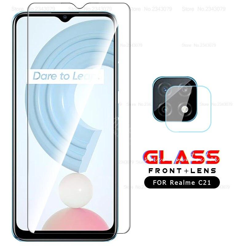 protective glass for realme c 21 camera lens screen protector For oppo realme c21 c 21 realmi 21c re