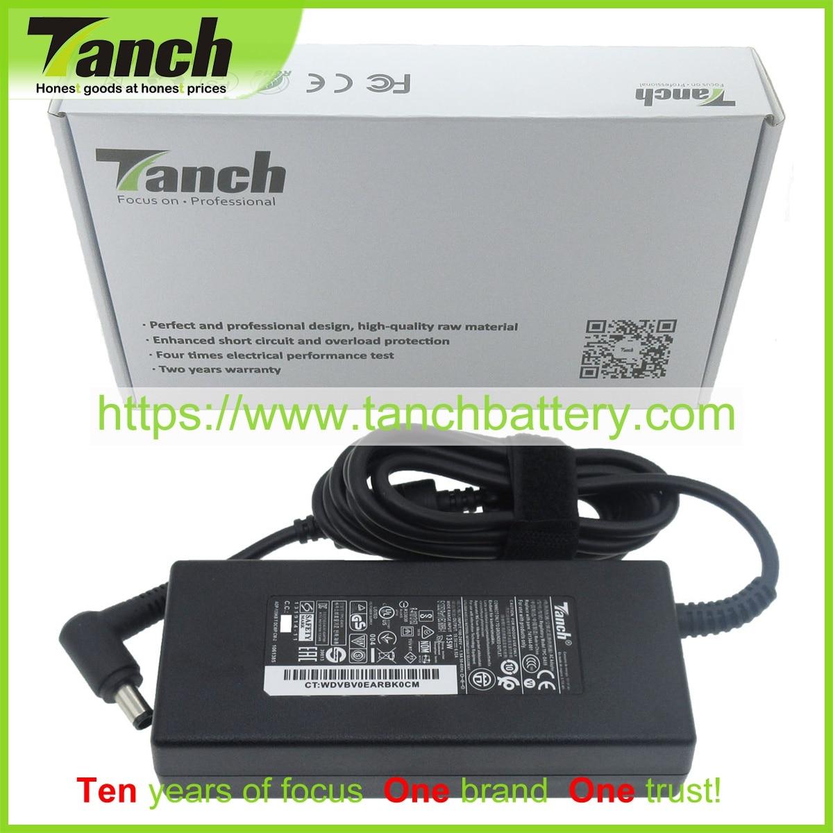 ac para Msi Tanch Portátil Adaptador 741344-001 Gl63 8rd Gp62m 7rdx Aspire 1522 8rd-067 Lmi Wlmi 19.5v 135w Adp-135kb t