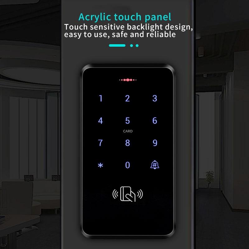 S20 Presse Keypad Access Control System Tür Schloss Swipe Passwort Integrierte Maschine Access Control Maschine