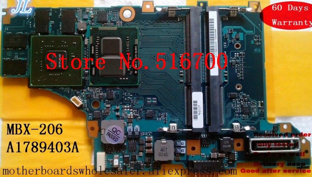 Placa Base Placa madre para SONY serie VPCZ MBX-206 Placa principal A1789403A probado OK