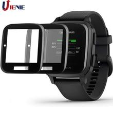 2 Stuks Hd Clear Film Voor Garmin Venu Sq Smart Horloge Beschermende Guard 3D Volledige Dekking Screen Protector Anti-scratch Film