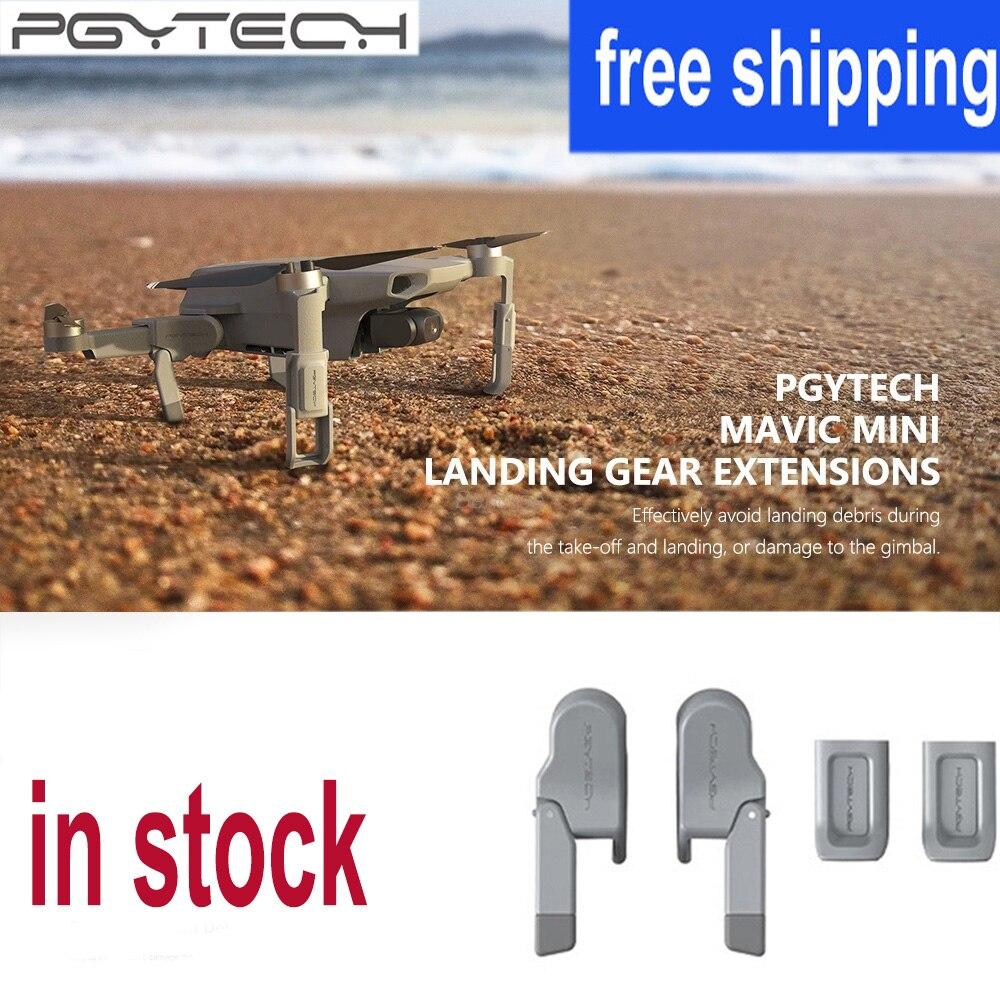 Ножка шасси PGYTECH для Mavic Mini Drone Skid усиленные амортизирующие стабилизаторы ножка для DJI Mavic Mini АКСЕССУАРЫ