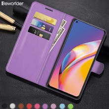 For Oppo K9 F15 F17 F19 Pro Plus Cases Covers Flip Wallet Card Slots PU Leather Case For Oppo A94 A9