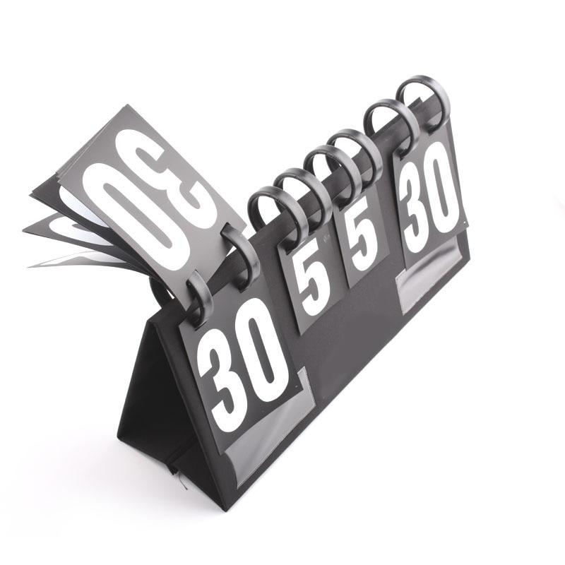 لوحة نتائج مكونة من أربعة أرقام لطاولة كرة السلة ، ومسجل المنافسة الرياضية ، وحارس كرة الريشة وتنس الطاولة