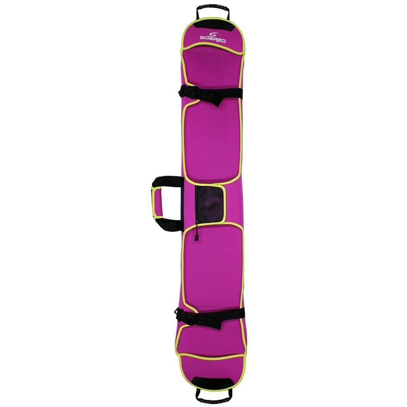 Bolsa de esquí SEWS-SOaReD, bolsa de Snowboard, Material de tela de buceo, bolsa de Snowboard resistente a los arañazos