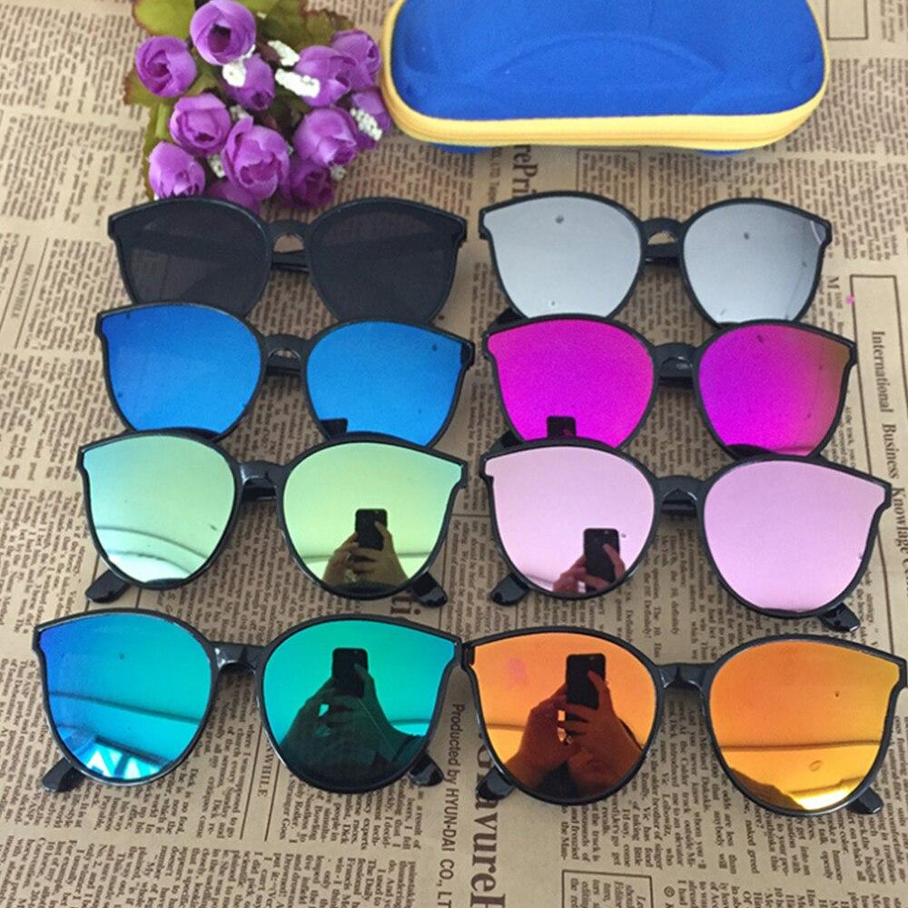 Kids Sunglasses Girls Brand Cat Eye Children Glasses Boys UV400 Lens Baby Sunglasses Cute Eyewear Sh