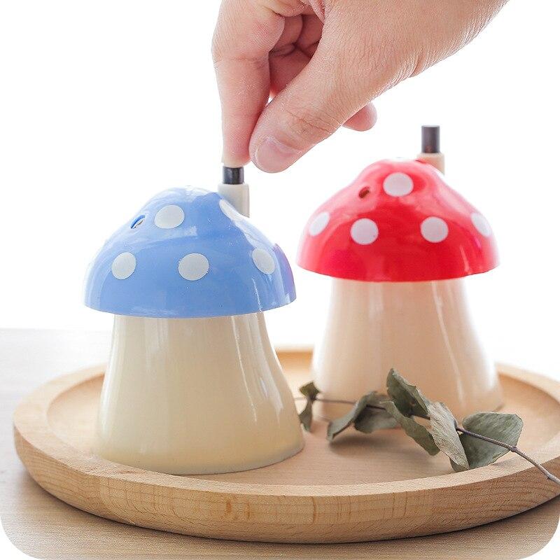 Новое поступление креативный дом и Грибная форма Автоматическая Подставка Для Зубочисток карманный маленький Зубочистка коробка