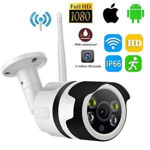 1080P Wireless Wifi Outdoor CCTV Bullet IP Camera Home Security Human Smart Motion Detection Device Night Vision Camera