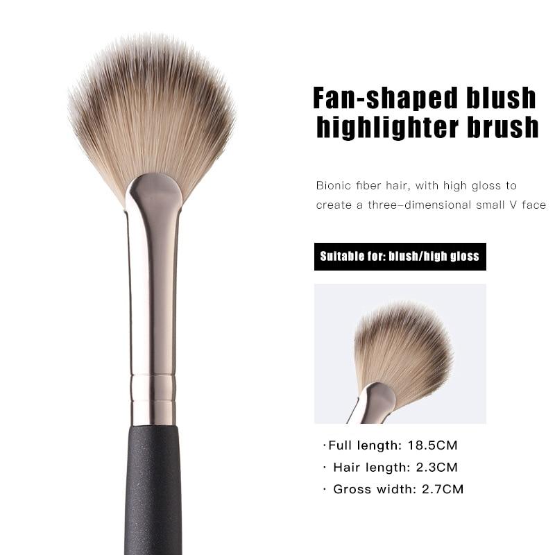 High quality Practical Facial Brushes Single Blush Brush High Light Brush Loose Powder Brush Makeup