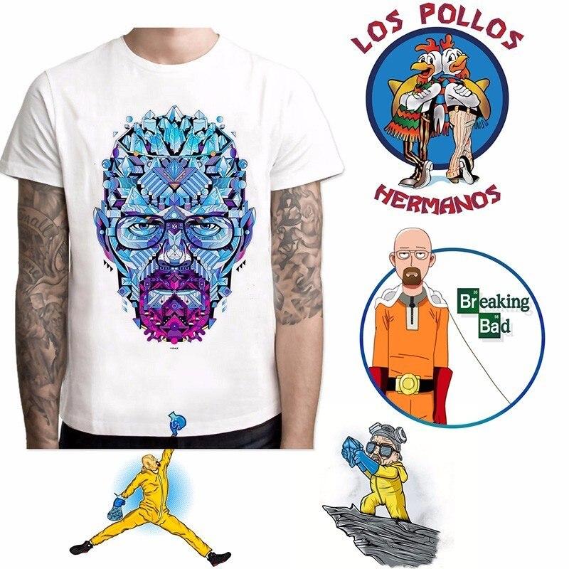 Camiseta divertida de Breaking Bad, camiseta de LOS POLLOS Hermanos, camiseta de manga corta Heisenberg, camiseta Hipster, camiseta