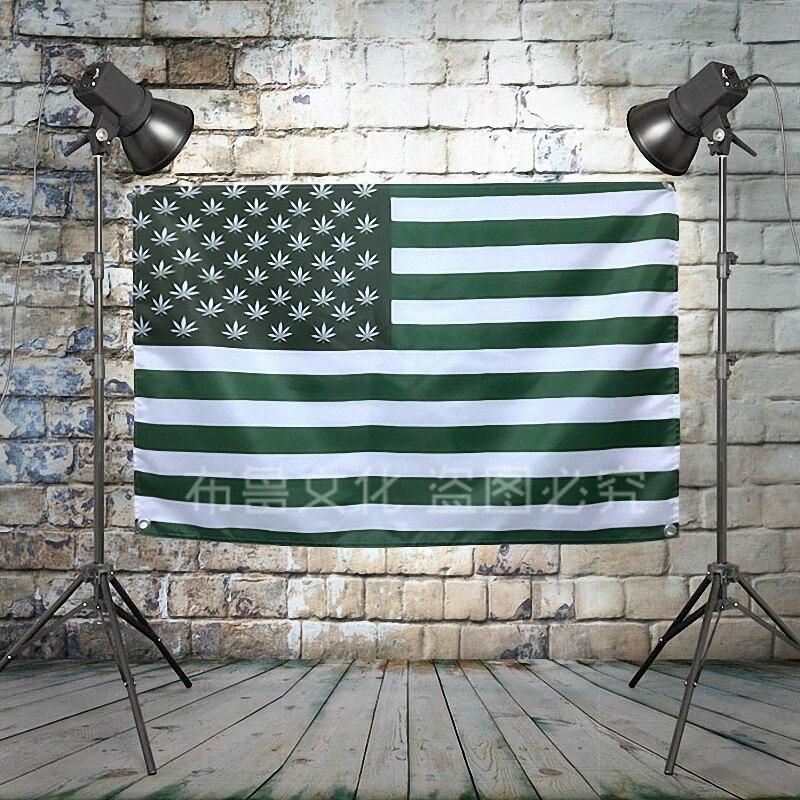 Bandera de EE. UU., Gran Reggae, cartel de banda de Metal pesado, cartel de música, fondo, decoración de banderas, Vintage, tela creativa, pintura artística