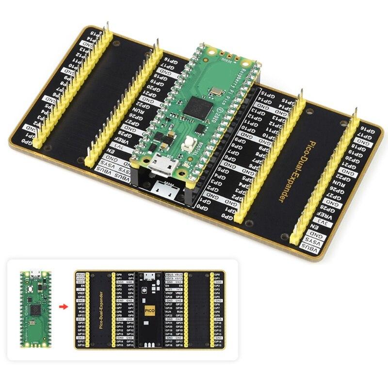 Raspberry Pi Pico-Placa de microcontrolador de alto rendimiento, interfaz Digital Flexible, bajo...