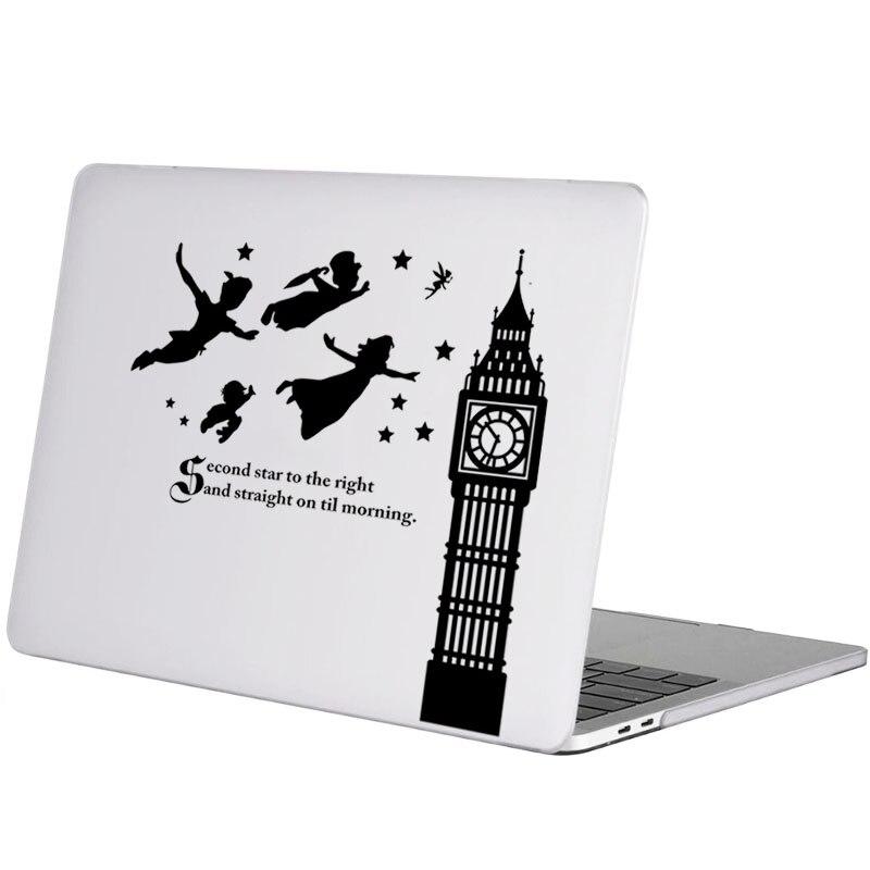 """Peter pan fada etiqueta do portátil para apple macbook decalque pro 16 """"retina ar 11 12 13 14 15 polegada hp mac livro notebook pele adesivo"""