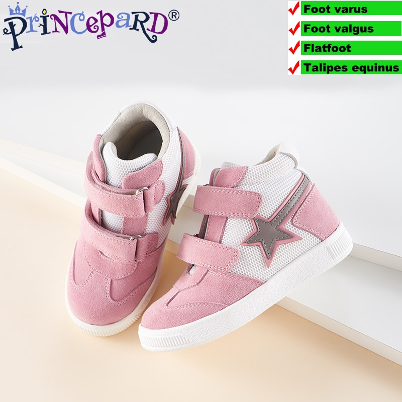 Autumn Orthopedic Shoes for Kids Children Sports Sneaker Arch Support Shoes Mesh Lining European size19-37 enlarge