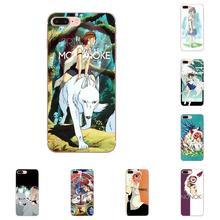 Classic Anime Princess Mononoke For Xiaomi Mi3 Mi4 Mi4C Mi4i Mi5 Mi 5S 5X 6 6X 8 SE Pro Lite A1 Max Mix 2 Note 3 4