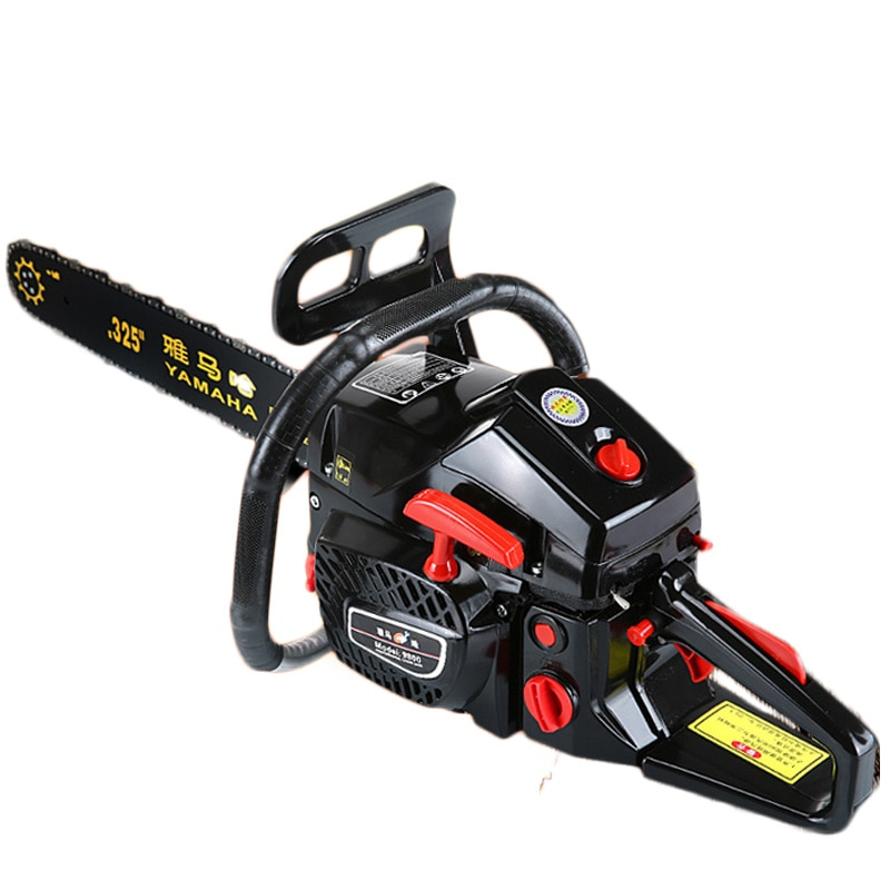 High Power Gasoline Saw Hand Held Chain Saw Cutting Wood Machine Oil Logging Saw Machine Garden Tools