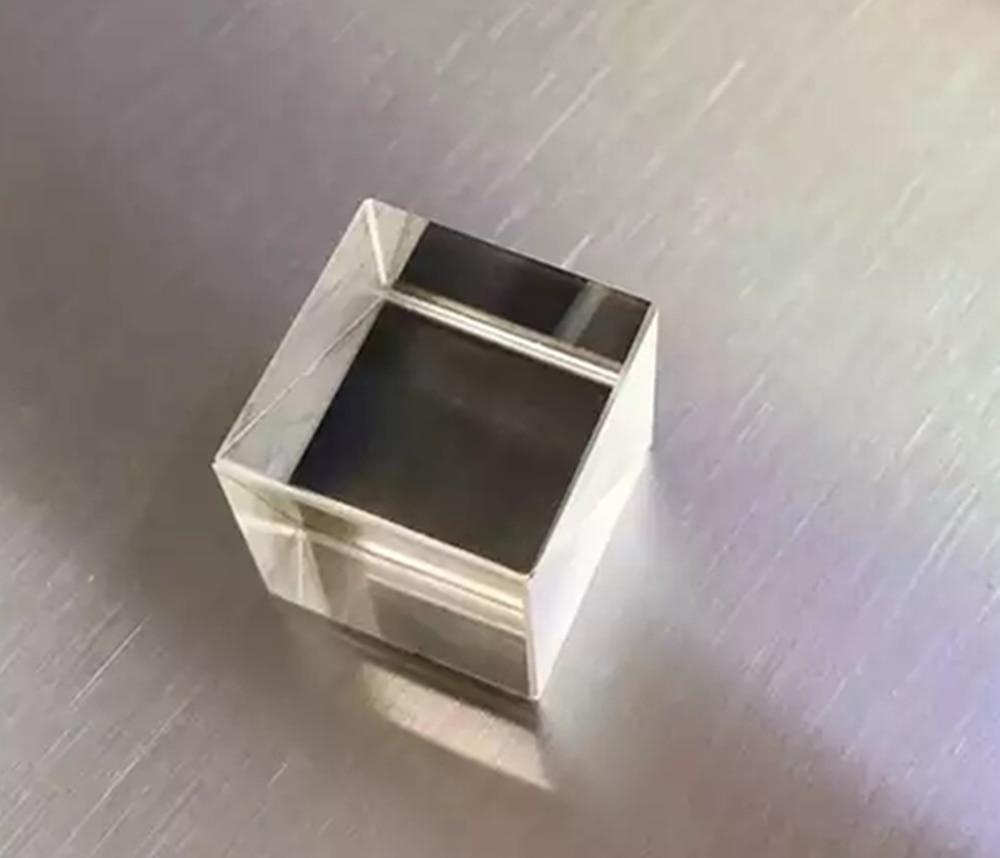 Cubo polarizador, Cubo de beamsplitter Prisma de fábrica Cubo de 12,7mm
