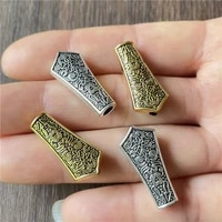 10pcs bracelet large hole connection jewelry making diy handmade metal tassel rosary pendant accessories wholesale for man