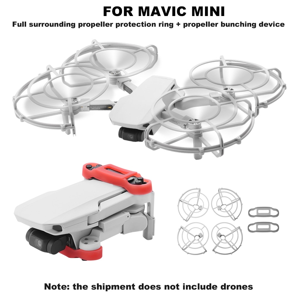 Drone Propeller Blade Fixed Holders Protective Ring Protector for DJI Mavic Mini enlarge