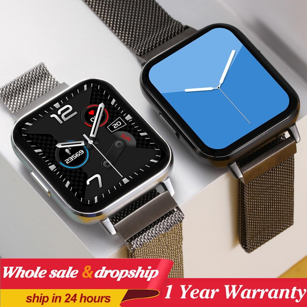 Smart Watch Men IP68 Waterproof 1.78 inch Screen Blood Pressure Smartwatch Women ECG Heart Rate Monitor Fitness Tracker Watches