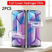 2 Pcs Protective Hydrogel Film For Samsung Galaxy A31 A32 4G 5G A30S A30 M30S M31 A 31 32 30S Back   Screen Protectors Not Glass