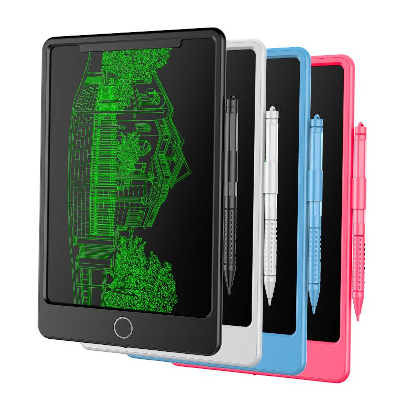 New LCD Writing Tablet 4.5 inch Digital Drawing Electronic Handwriting Pad Message Graphics  Writing Board Children Gifts недорого