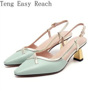 High Heel Women Pointed Toe Shoes Shallow Stiletto Heels Party Footwear Spring Summer Apricot 40 Women Pumps 2021