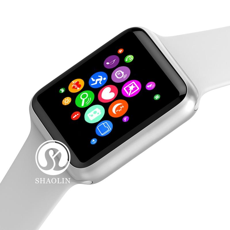 Buy 1 Get 1 Free Smart Watch Heart Rate Monitor Women's Watches Smart Watch Man Smartwatch Tracker for Apple Watch Series 5 6 7