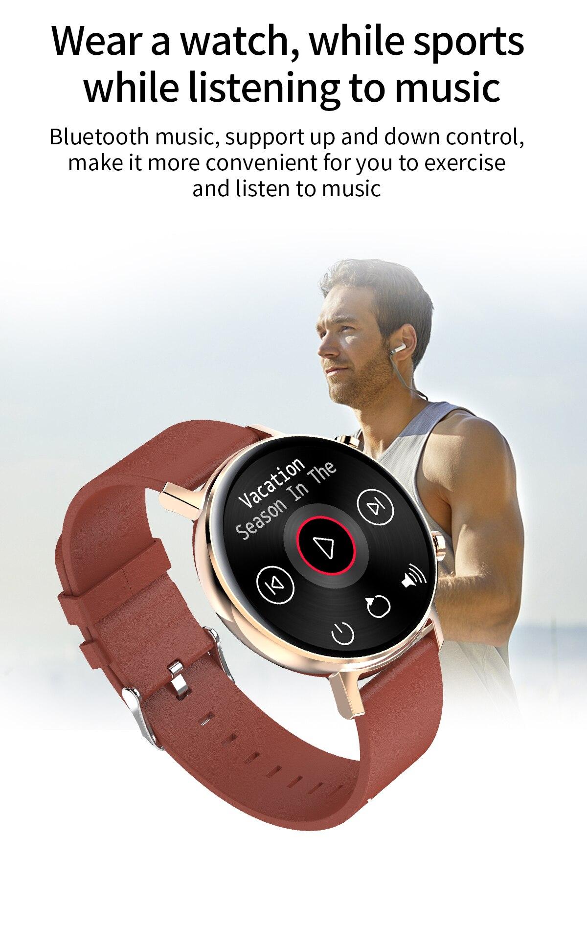 Smartwatch monitoramento de saúde ip68 à prova
