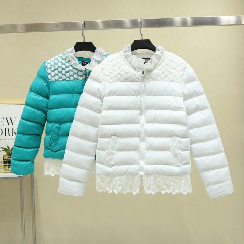 Куртка женская зимняя одежда Новинка 2021 пальто зимние женские пальто короткие тонкие плотные теплые куртки женские куртки черные OAIRED