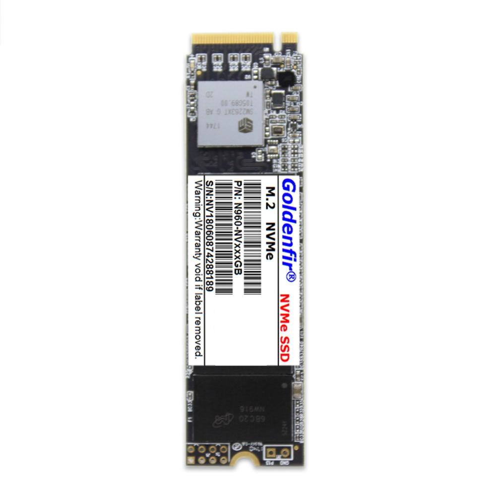 غولدنفير بكيي M.2 NVME SSD 128GB/256GB/512GB/1 تيرا بايت 2280 الحالة الصلبة محرك قرص صلب لسطح المكتب Ultrabook كمبيوتر محمول