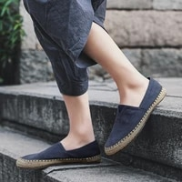 loafers comfort canvas shoes for men blue black casual shoes fashion sport classic lightweight breathable shoes high quality