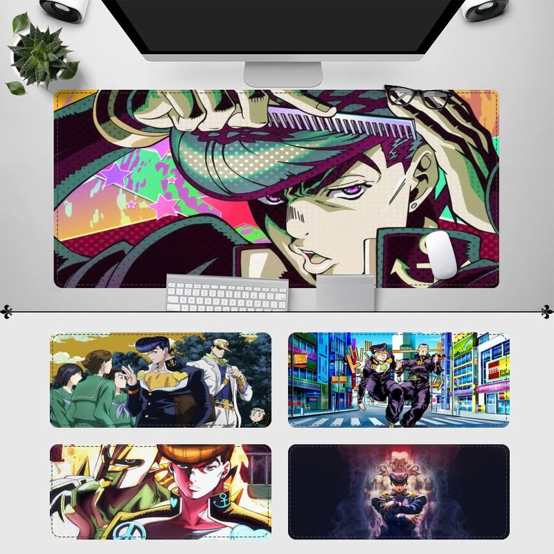 Большой игровой коврик для мыши XXL Josuke Higashikata, игровой коврик для клавиатуры, Настольный коврик для мыши, игровые аксессуары для Overwatch