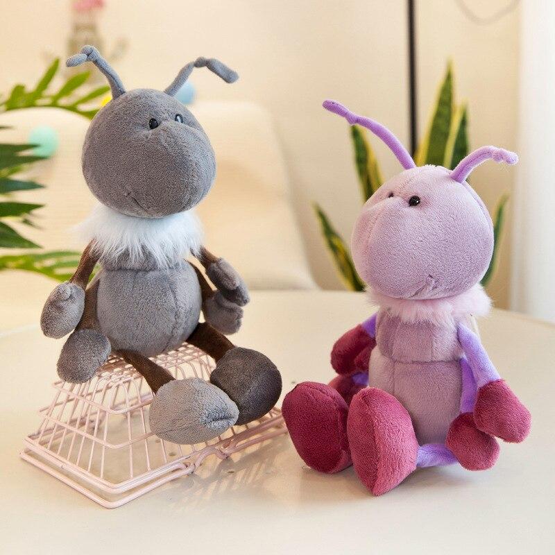 30/40 cm חמוד נמלה בפלאש צעצוע ממלכת לבבות צל חסר לב Blant נמלה חיות פרווה בובת צעצועים לילדים מתנת יום הולדת