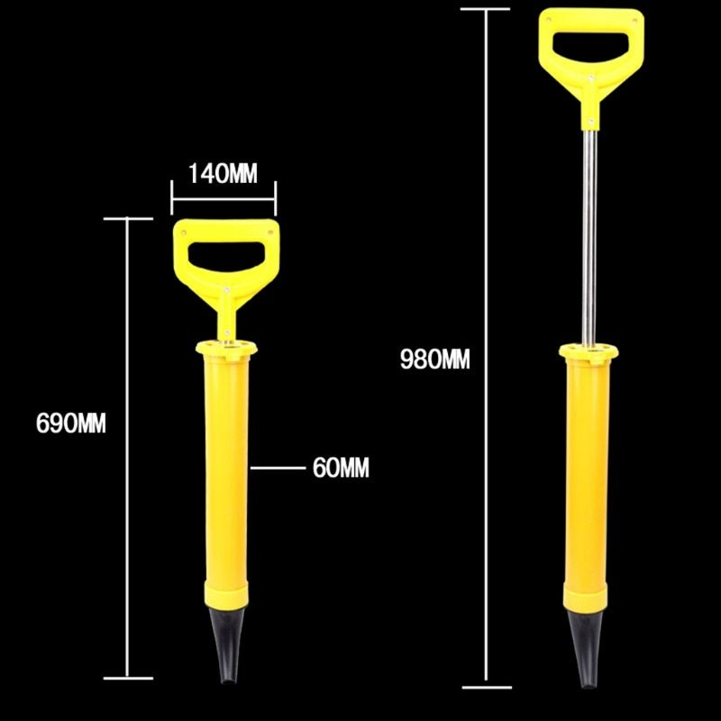 Caulking Cement Lime Pump Grouting Mortar Sprayer Applicator Grout Filling Tools With 4 Nozzles