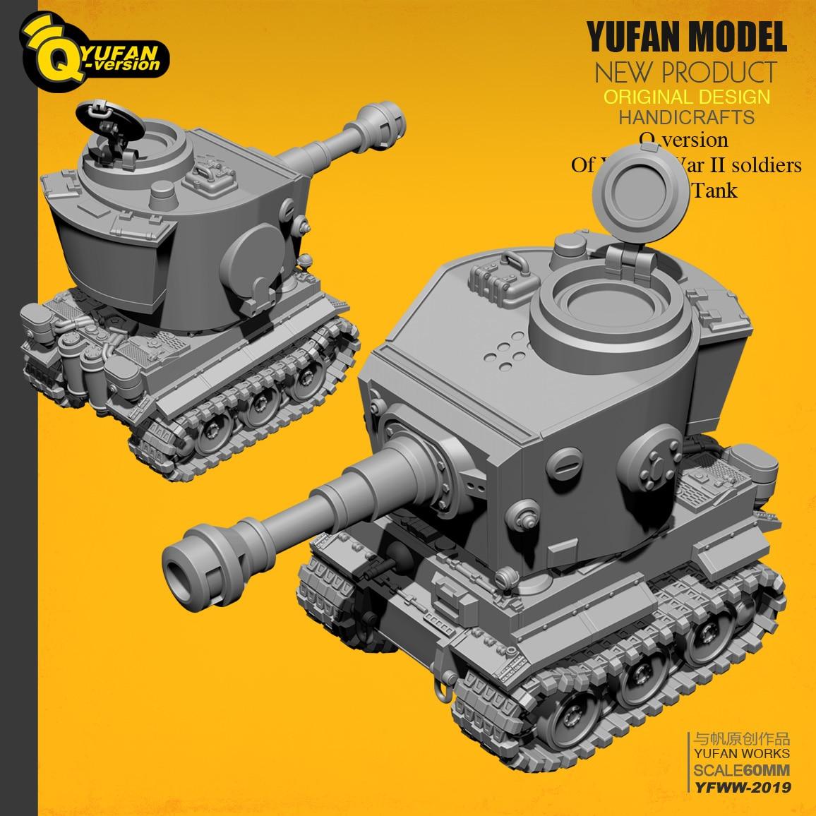 Yufan modèle Q version tigre réservoir résine modèle Yfww-2019