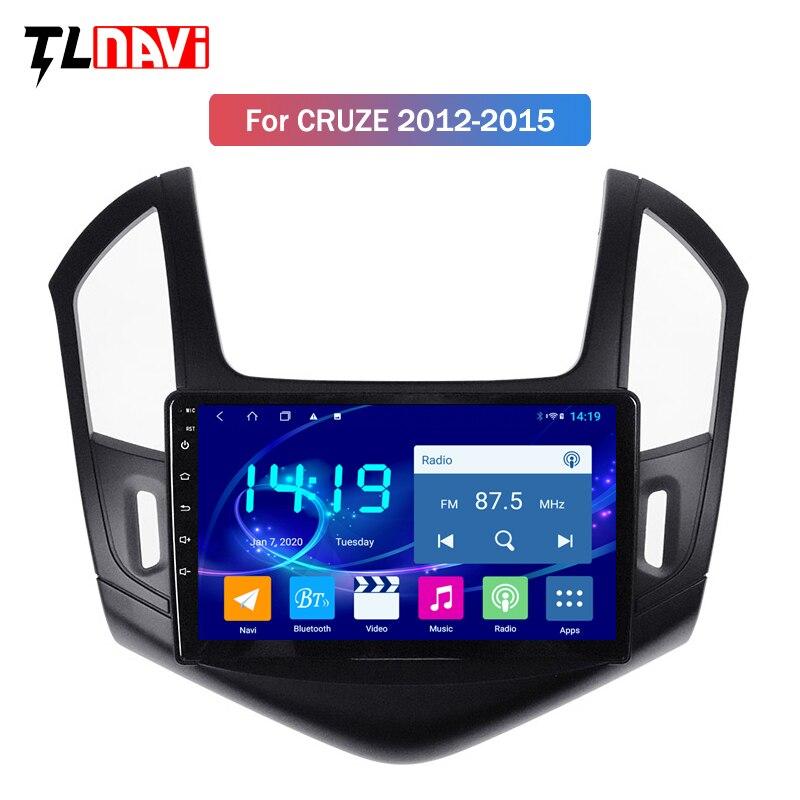 4G + 64G android 9,0 reproductor de dvd gps para coche para Chevrolet Cruze 2013 2014 2015 radio soporte de navegación gps volante