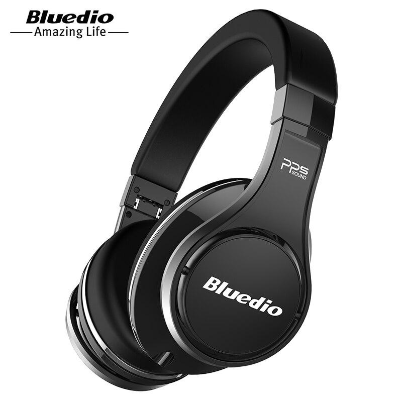 Original Bluedio UFO Bass Bluetooth Headphones 8 Speaker HIFI Bluetooth Headset Headset Wireless 3DSurround Headset Head-mounted