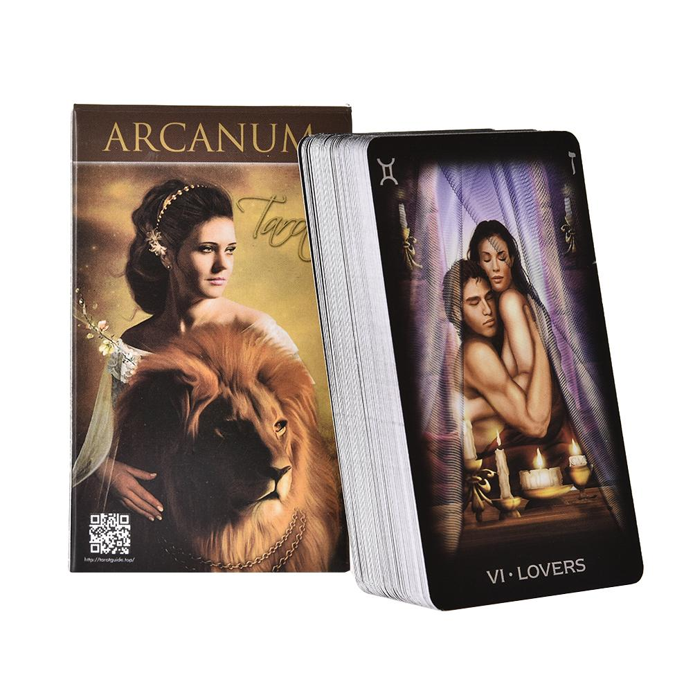 78 Arcanum Tarot Card Games Board Game