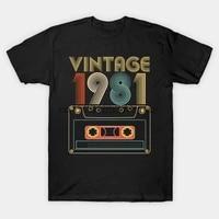 men t shirt vintage 1981 tshirt women t shirt
