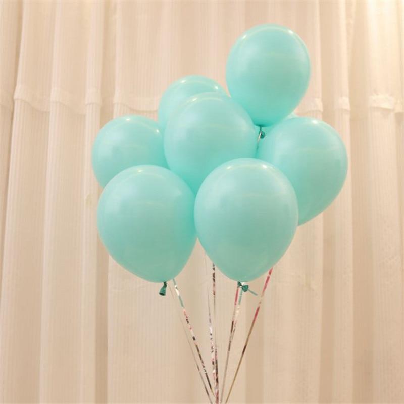 10 pçs 10 Polegada 2.2g casamento casamento quarto organizar látex balão qixi dia dos namorados casamento decoração tiffany látex balão