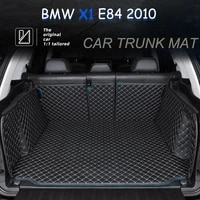 the trunk floor leather liner car trunk mat cargo compartment floor carpet for bmw x1 e84 2010